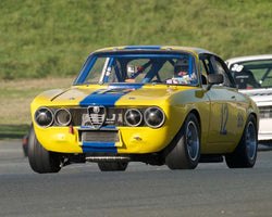 Don Forrester with 1969 Alfa Romeo GTV in Group 8 - at the 2016 CSRG David Love Memorial - Sears Point Raceway