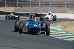 Phillip Ribbs with 1963 Lotus 27 FwithJr in Group 4 -  at the 2016 SVRA Sonoma Historics - Sears Point Raceway