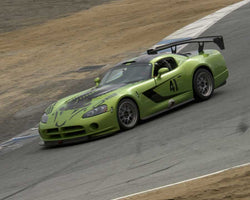Steve Dana with 2008 Dodge Viper in Group 4 at the 2015 HMSA LSR Invitational II at Mazda Raceway Laguna Seca