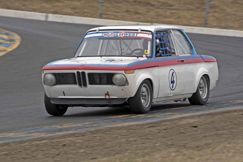 Nicholas Talbot - BMW 2002 in 1956-72 Production & GT Cars under 2000cc - Group 9 at the 2017 SVRA Sonoma Historic Motorsports Festivalrun at Sonoma Raceway