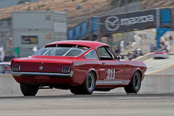 Jim Hague - 1966 Shelby GT350 in Group 4B - 1963-1966 GT Cars over 2500cc at the 2017 Rolex Monterey Motorsport Reunion run at Mazda Raceway Laguna Seca