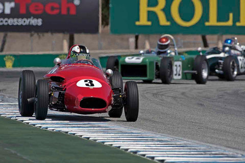 Joseph Colasacco - 1959 Stanguellini FJ in Group 2B - 1958-1960 Formula Jr. - front engine or drum brakes at the 2017 Rolex Monterey Motorsport Reunion run at Mazda Raceway Laguna Seca
