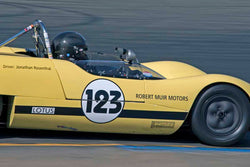 Jonathan Rosenthal - 1965 Lotus 23B in Group 4&5 - Small Displacement Sports Racing Cars through 1967 & Formula Junior & Formula Vee open wheel cars at the 2017 CSRG Charity Challenge run at Sonoma Raceway
