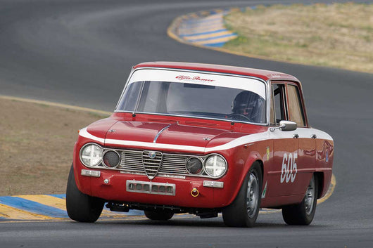 Gary Highland - 1962 Alfa Romeo Giulia TI in Group 2 -  at the 2016 Charity Challenge - Sonoma Raceway