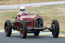 Erickson Shirley with 1934 Alfa Romeo Tipo B in Group 1  at the 2016 SVRA Sonoma Historics - Sears Point Raceway