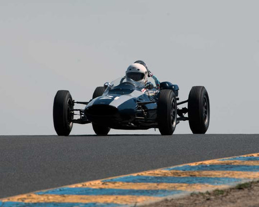 Jim Smith with 1962 Cooper T59 in Group 5 - at the 2016 CSRG David Love Memorial - Sears Point Raceway