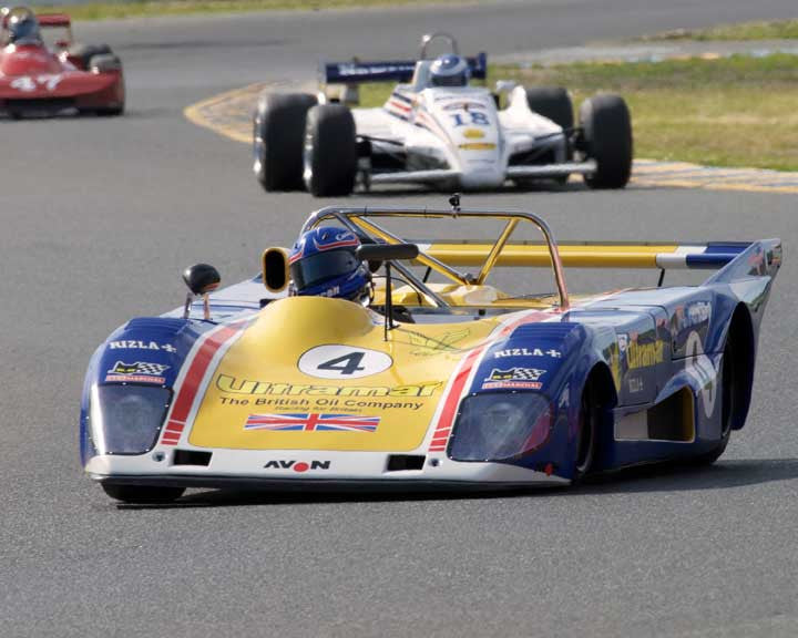 Mike Thurlow with 1973 Lola T294 in Group 7  at the 2016 CSRG David Love Memorial - Sears Point Raceway