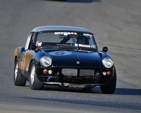 Stan Rinne with 1962 Triumph Spitfire in  Group 1 at the 2015 Season Finale at Thunderhill Raceway