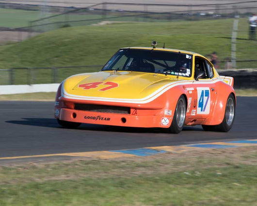 David Martin with 1970 Datsun 240 Z in Group 8 - at the 2016 CSRG David Love Memorial - Sears Point Raceway