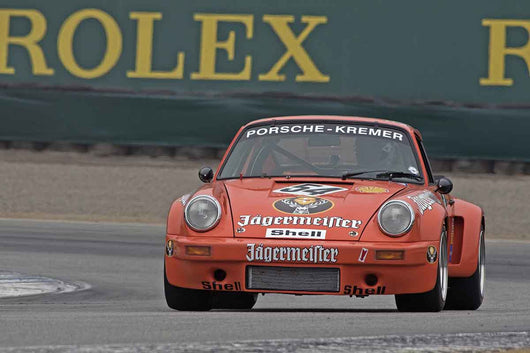 Andrew Larson - 1975 Porsche Kremer 911 3.0 in Group 4A  at the 2016 Rolex Monterey Motorsport Reunion - Mazda Raceway Laguna Seca