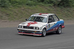 Daniele Hovington - 1987 BMW 325 in Group 8 at the 2017 SOVREN Pacific Northwest Historicsrun at Pacific Raceways