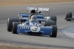John Delane - 1971 Tyrrell 002 in Group 7B  at the 2016 Rolex Monterey Motorsport Reunion - Mazda Raceway Laguna Seca