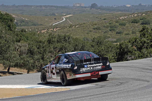 Gary Sousa - 1995 Chevrolet Monte Carlo SS in 1979-2006 Historic Stock Cars - Group G at the 2017 SCRAMP Spring Classic run at Mazda Raceway Laguna Seca