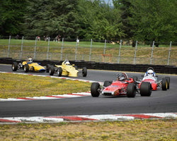 Group 2 in Group 2 - Open Wheel Prior to 1973 at the 2015 Portland Vintage Racing Festival at Portland International Raceway