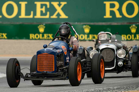 Max Jamiesson - 1935 Ford Sprint Car in Group 2A - 1927-1951 Racing Cars at the 2017 Rolex Monterey Motorsport Reunion run at Mazda Raceway Laguna Seca