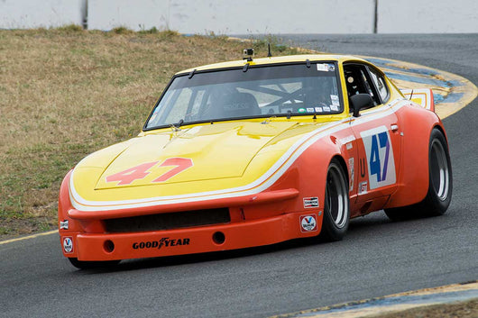 David Martin with 1976 Datsun 240Z in Group 12 at the 2016 SVRA Sonoma Historics - Sears Point Raceway