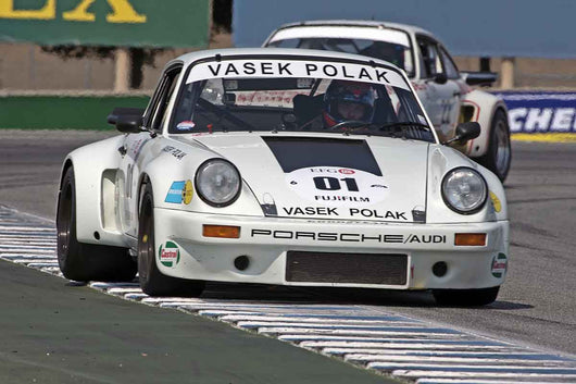 Alan Terpins - 1975 Porsche Carrera RSR 3.0 in Group 4A  at the 2016 Rolex Monterey Motorsport Reunion - Mazda Raceway Laguna Seca