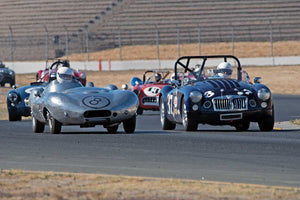 Paul Adams - 1956 Elva Mk 2 in Group 1 -  at the 2016 Charity Challenge - Sonoma Raceway