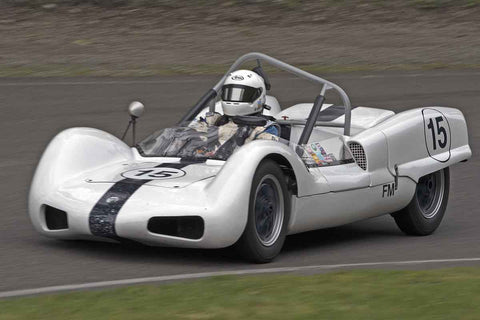 Thor Thorson - 1962 Elva MK 6 in Group 1 at the 2017 SOVREN Spring Sprints run at Pacific Raceways