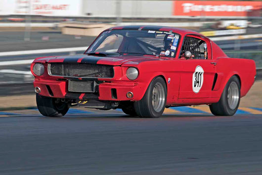 Craig Skeels - 1965 Ford Mustang in Group 3 - Large Displacement Production Sports Cars through 1967 at the 2017 CSRG Charity Challenge run at Sonoma Raceway
