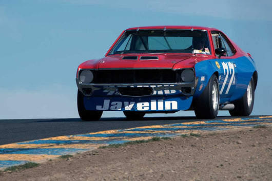 Buzz Dyer with 1970 AMC Javelin in Group 10 at the 2016 SVRA Sonoma Historics - Sears Point Raceway