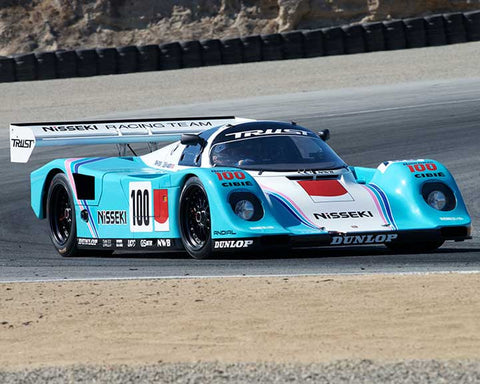 Bruce Canepa with 1990 Porsche 962C in Group 6 - Stuttgart Cup at the 2015 Rennsport Reunion V, Mazda Raceway Laguna Seca
