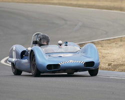 Tom Thinesen with 1961 Elva MK 6withDSC in  Group 4 at the 2015 Season Finale at Thunderhill Raceway