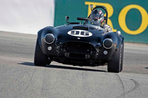 Lorne Leibel - 1965 Cobra 289 in Group 4B - 1963-1966 GT Cars over 2500cc at the 2017 Rolex Monterey Motorsport Reunion run at Mazda Raceway Laguna Seca