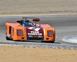 Duncan Dayton with 1972 Chevron B23 in Group 6A - FIA Manufacturers Championship Cars at the 2015-Rolex Monterey Motorsport Reunion, Mazda Raceway Laguna Seca