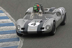 Gunnar Jeannette - 1963 Porsche Elva in Group 5A  at the 2016 Rolex Monterey Motorsport Reunion - Mazda Raceway Laguna Seca