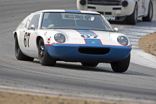 Don Hogue - 1967 Lotus Europa Mark 47 in Group 4B  at the 2016 Rolex Monterey Motorsport Reunion - Mazda Raceway Laguna Seca