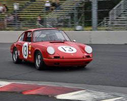 Paul Gaudio with 1968 Porsche 912 in Group 3 - Medium Displacement Production Card at the 2015 Portland Vintage Racing Festival at Portland International Raceway
