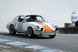 Frank Altamura - 1966 Porsche 911S in Group 6 at the 2017 HMSA Spring Club Event - Mazda Raceway Laguna Seca