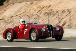 Conrad Stevenson - 1939 Alfa Romeo 6C2500 Super Sport in Group 2A - 1927-1951 Racing Cars at the 2017 Rolex Monterey Motorsport Reunion run at Mazda Raceway Laguna Seca