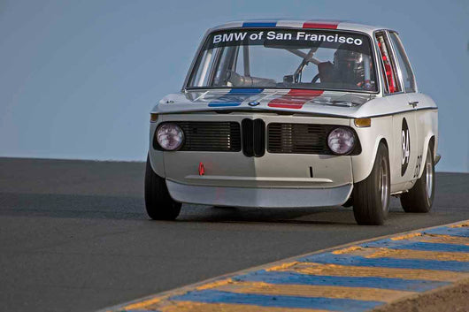 Henry Schmitt - 1972 BMW 2002 in Group 3 - Large Displacement Production Sports Cars through 1967 at the 2017 CSRG Charity Challenge run at Sonoma Raceway