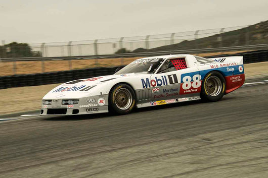 Michael Malone - Chevrolet Corvette in Group 7B - 1973 1991 IMSA GTU, GTO / Trans AM Cars at the 2017 Rolex Monterey Motorsport Reunion run at Mazda Raceway Laguna Seca