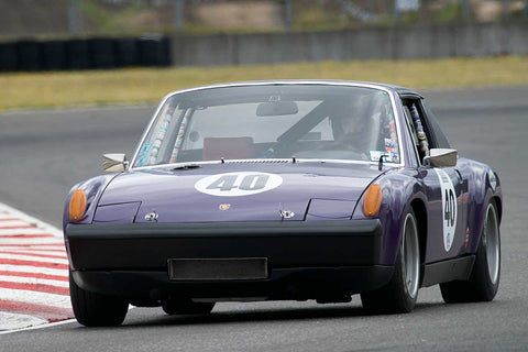 Jon Wactor with 1970 Porsche 914 6 in Group 8 -  at the 2016 Portland Vintage Racing Festival - Portland International Raceway