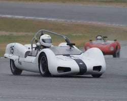 Thor Thorson with 1962 Elva Mk6 in Group 1  at the 2016 CSRG David Love Memorial - Sears Point Raceway