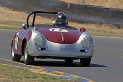 Max Jamiesson - 1957 Porsche 356 Speedster in at the 2017 SVRA Sonoma Historic Motorsports Festivalrun at Sonoma Raceway