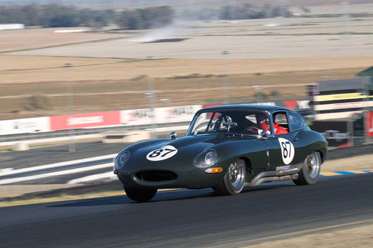 Cove Britton - 1964 Jaguar E-type in Group 3 -  at the 2016 Charity Challenge - Sonoma Raceway