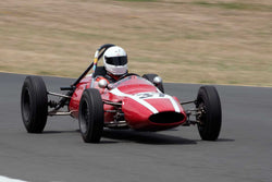 Jeffrey Rothman with 1962 Cooper T59 in Group 4 -  at the 2016 SVRA Sonoma Historics - Sears Point Raceway