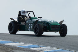 Robert Manson - 1962 Lotus 7 in Group 6 at the 2017 HMSA Spring Club Event - Mazda Raceway Laguna Seca