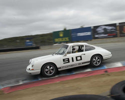 Carl Tofflemine driving his 1967 Porsche 911 in Group 3 at the 2015 HMSA LSR Inventional I at Mazda Raceway Laguna Seca