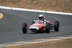Marty Benck with 1962 Lotus 22 FwithJr. in Group 4 -  at the 2016 SVRA Sonoma Historics - Sears Point Raceway