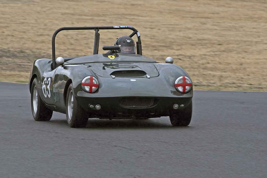 Charles Turvey - 1963 ELVA Courier MK3 in Group 2 -  at the 2016 Charity Challenge - Sonoma Raceway