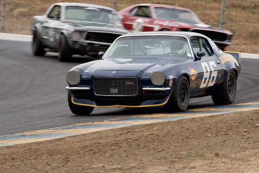 Leon Desimone with 1970 Chevrolet Camaro in Group 10 at the 2016 SVRA Sonoma Historics - Sears Point Raceway