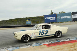 Jim Halsey - 1965 Shelby GT350 in Group 7 at the 2017 HMSA Spring Club Event - Mazda Raceway Laguna Seca