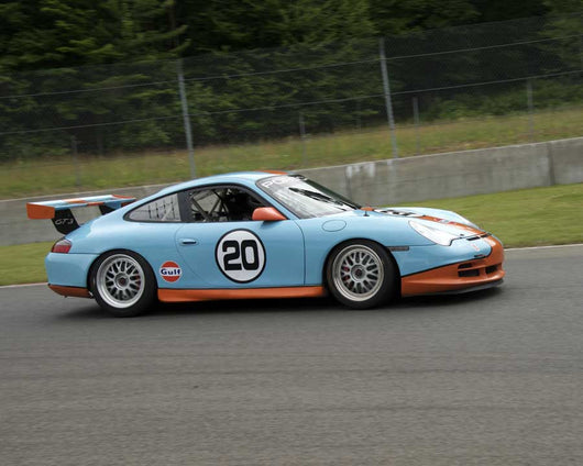 Russ Gorochowski with 2005 Porsche GT3 Cup in Group 5 at the 2015 Sommet des LÌÄå_ÌÄåÌÄå_ÌÄå__gendes at Mt Tremblant