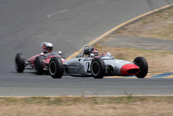 Art Hebert with 1963 Lola Mk5A in Group 4 -  at the 2016 SVRA Sonoma Historics - Sears Point Raceway