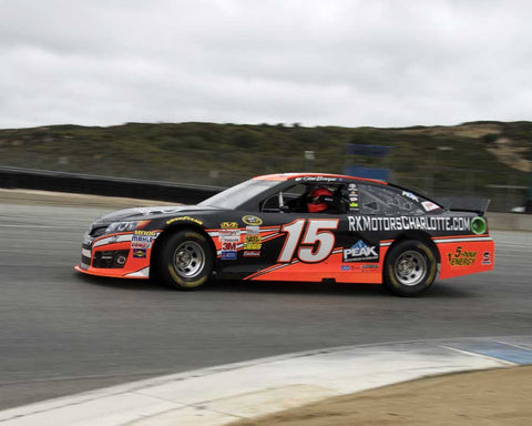 Rob Kauffman with 2014 Toyota Camry in Group 5 at the 2015 HMSA LSR Invitational II at Mazda Raceway Laguna Seca